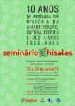 cartaz Seminario 10 anos HISALES