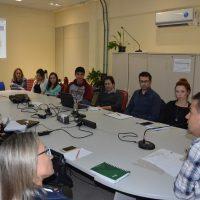 Conselheiros do Coplan discutem pautas do primeiro encontro.