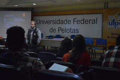 Vice-reitor palestra no evento