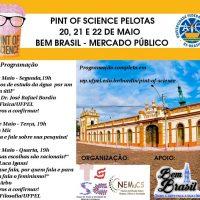 cartaz com a programação do evento