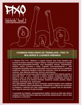 cartaz com informações sobre submissão de trabalhos
