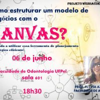 cartaz com informações sobre o evento