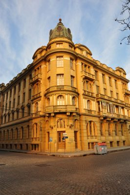Fachada do Grande Hotel