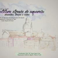 Cartaz com informações sobre a mostra