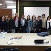 Grupo de Trabalho do projeto reunido em Brasília