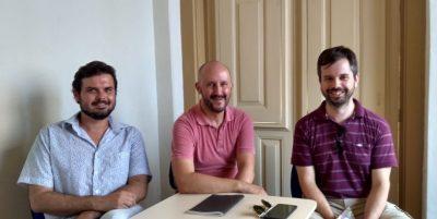 Os três diretores