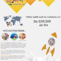 cartaz com informações sobre o evento.