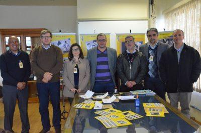 equipe dos Correios e UFPel