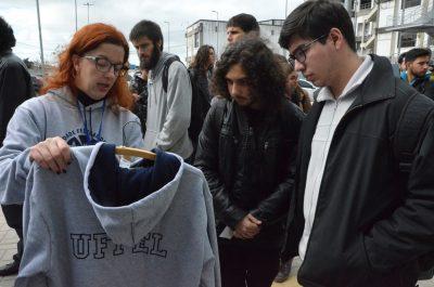 Ana Bandeira apresenta grife aos estudantes