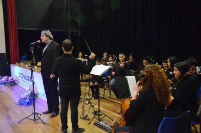 Tenor Saulo Laucas Pereira e Orquestra Jovem do Pampa