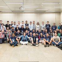 Grupo da UFPel no evento em São Paulo