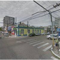 Foto da esquina da 15 de novembro com Dom Pedro Segundo.