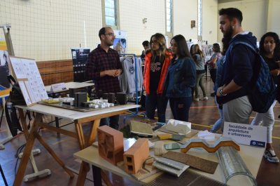 Exposição do curso de Arquitetura