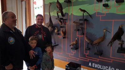 Família Madail visita o Museu Carlos Ritter