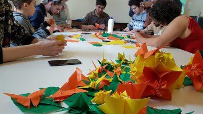Oficina de Origami