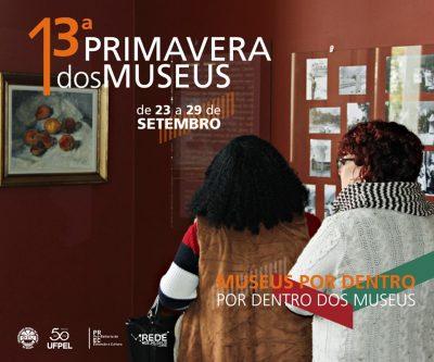cartaz Primavera dos Museus