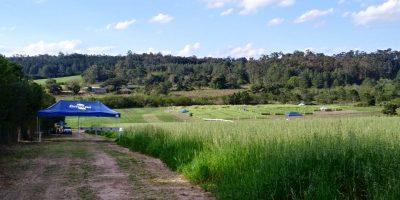 vista do campo verde