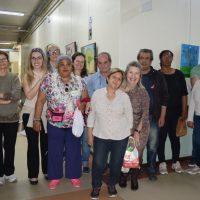 Grupo que participa da mostra.