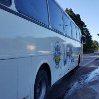 ônibus da UFPel na parada